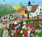 Paysage de Molineuf (Jacqueline Aymon)
