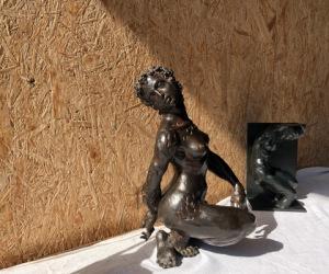 sculpture de Paul Bosland